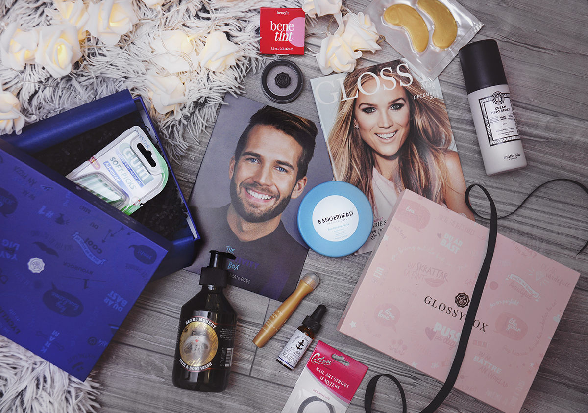 Glossybox December 2015 The Positivity Box