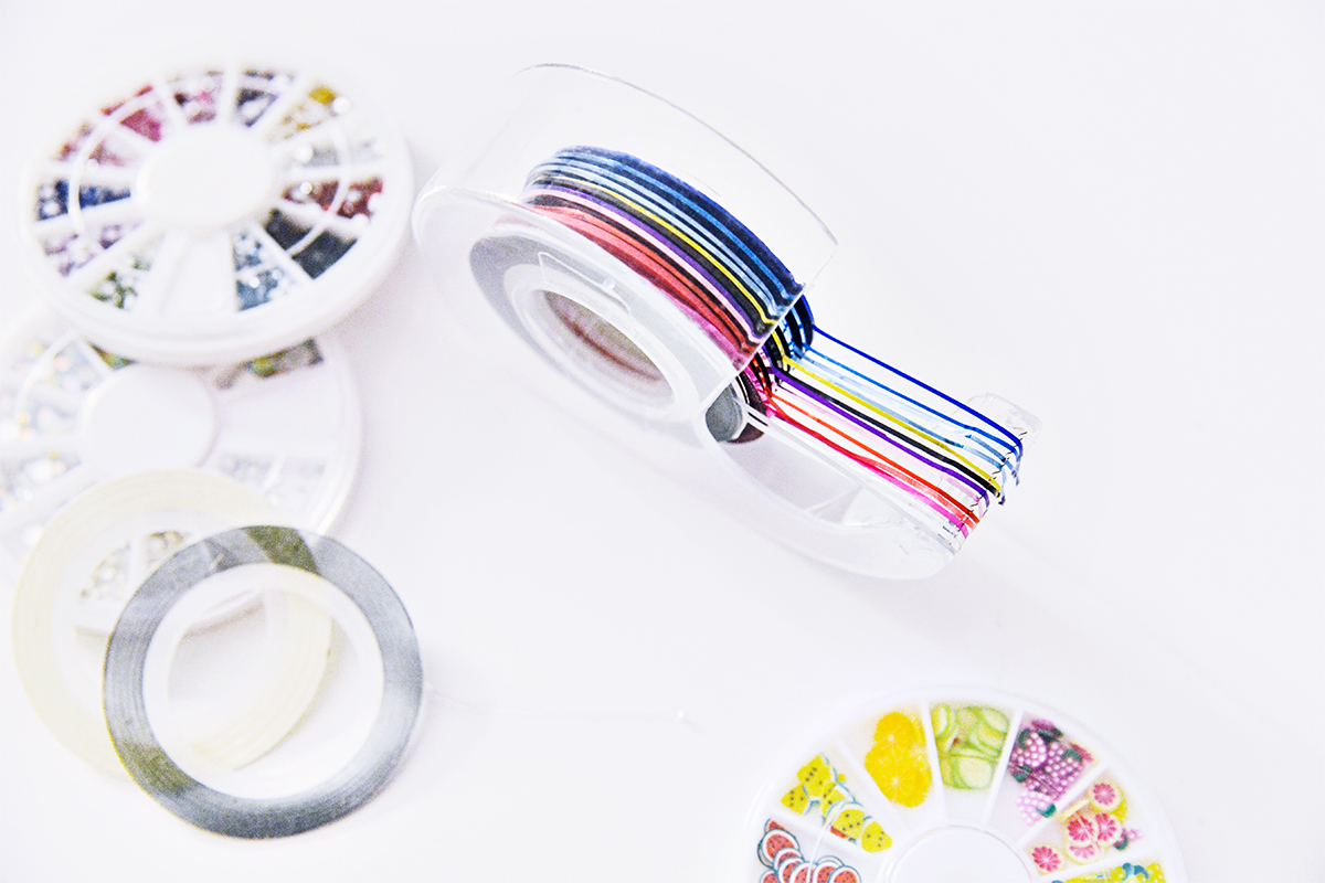 Beauty hack: Organize your striping tape!