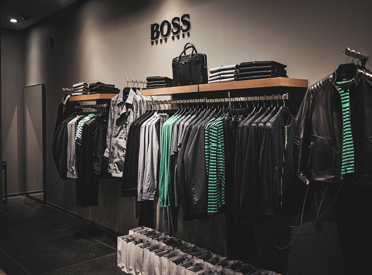 Hugo Boss in Copenhagen