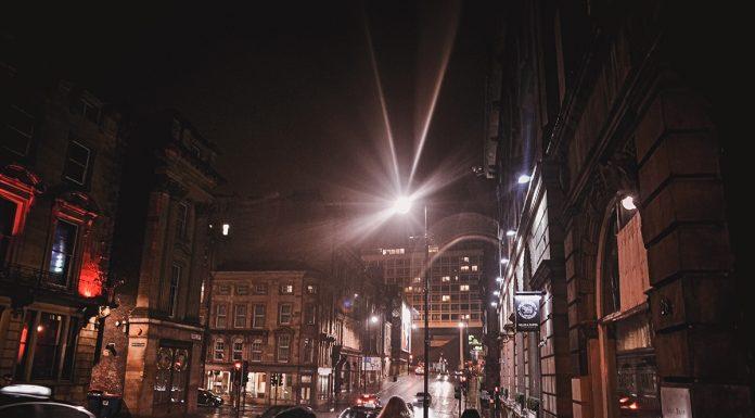 Newcastle-Gateshead by night