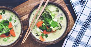 Tom kha phak-soppa