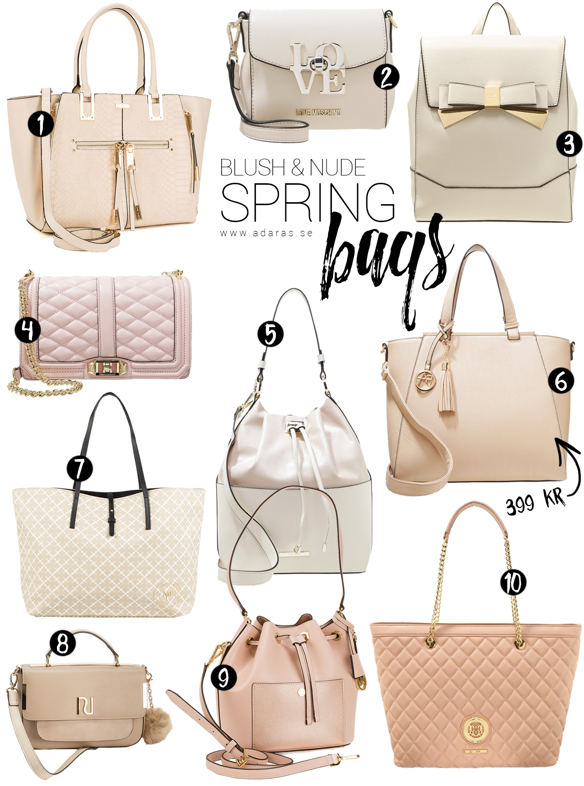 Blush & Nude Spring Bags