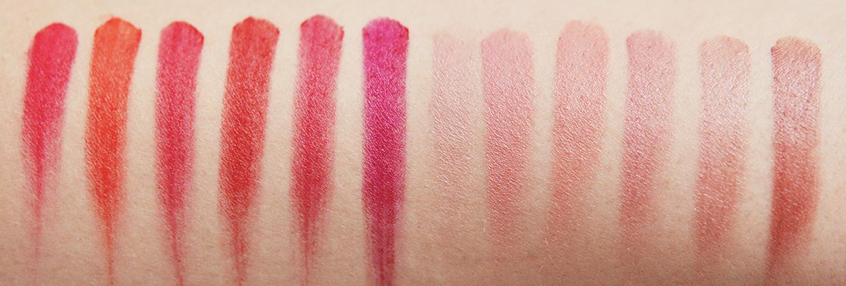 L'Oréal Paris Color Riche Lip Palette Swatches