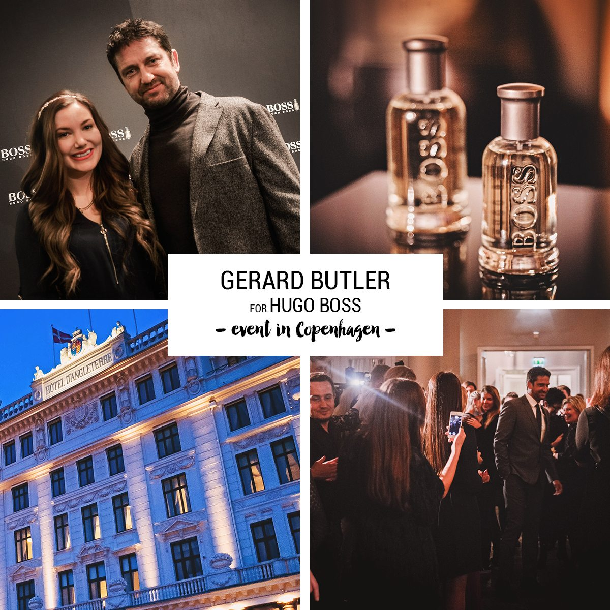 Gerard Butler for Hugo Boss