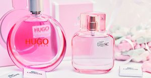Spring Perfumes - Hugo Woman Extreme & Lacoste L.12.12 Sparkling