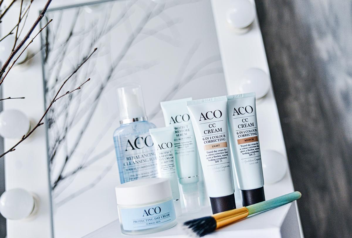 Adaras Hudvårdsrutin med ACO CC Cream