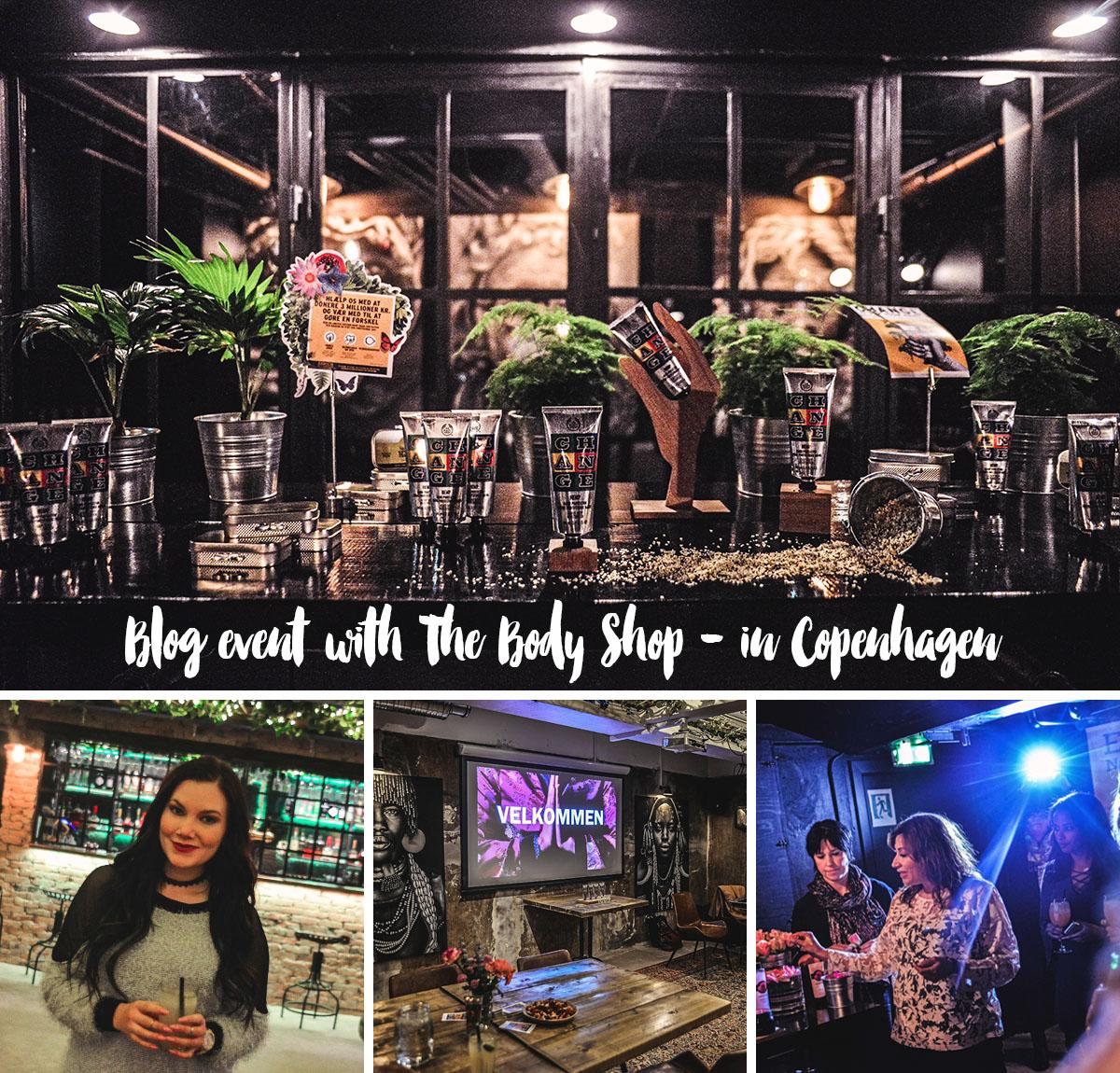 Våren 2016 hos The Body Shop - bloggevent i Köpenhamn