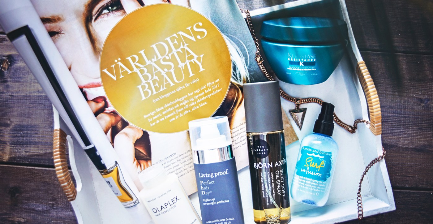 Daisy Beauty Awards 2016 - Årets Bästa Hårprodukt