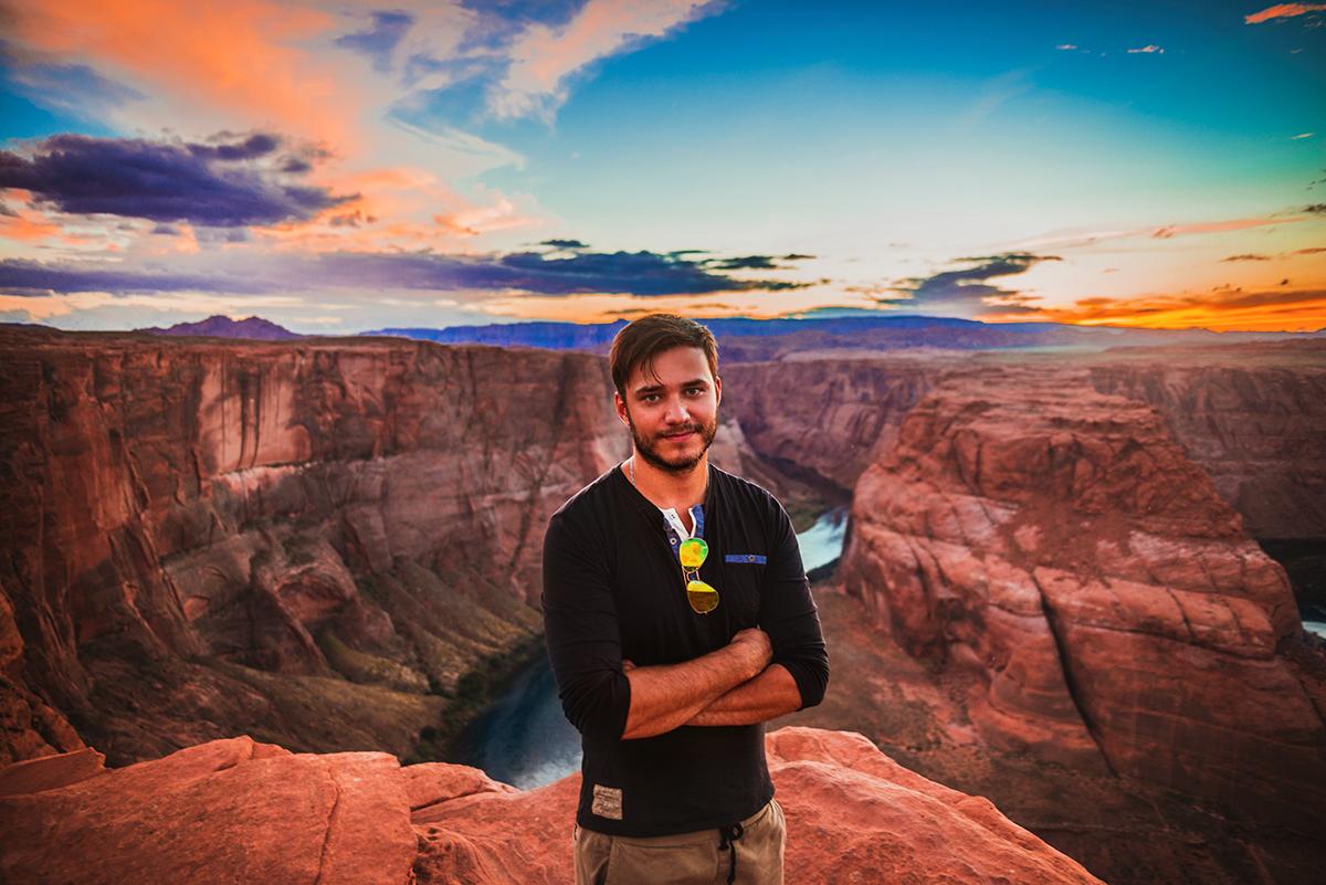 Simon Hallie Eriksson - Page, Arizona