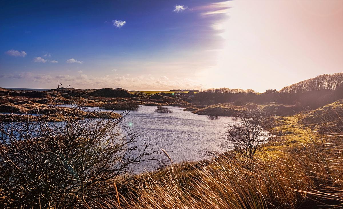 Beautiful landscape in England