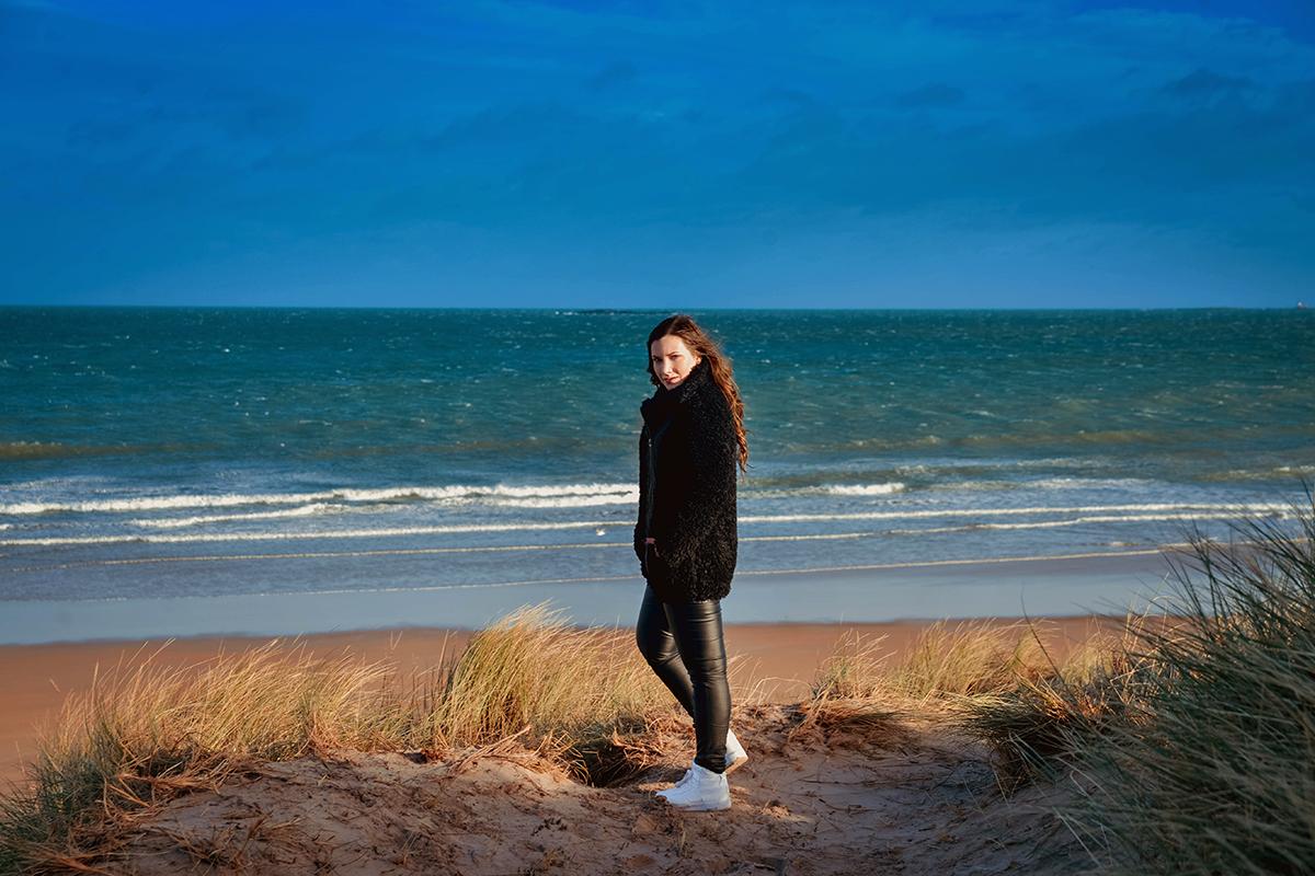 Beach in Northeast England