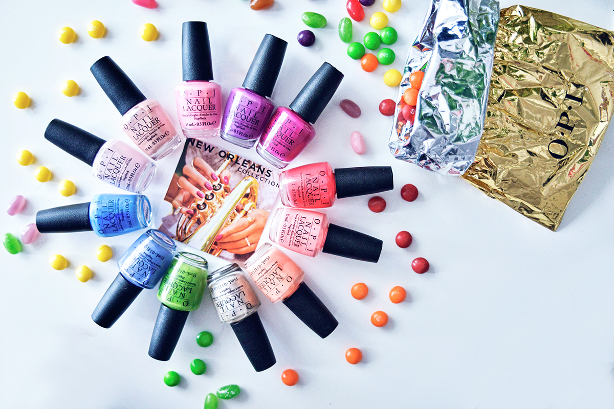 OPI New Orleans Collection Spring & Summer Nails 2016