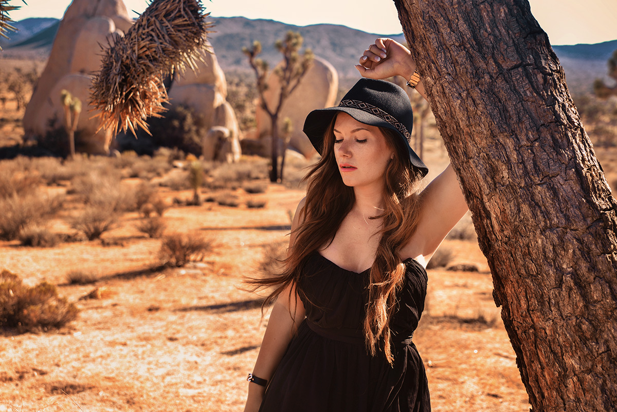 Outfit in Joshua Tree
