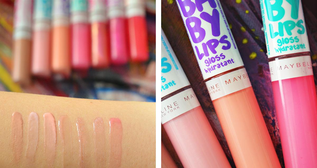 Baby Lips Moisturizing Lip Gloss