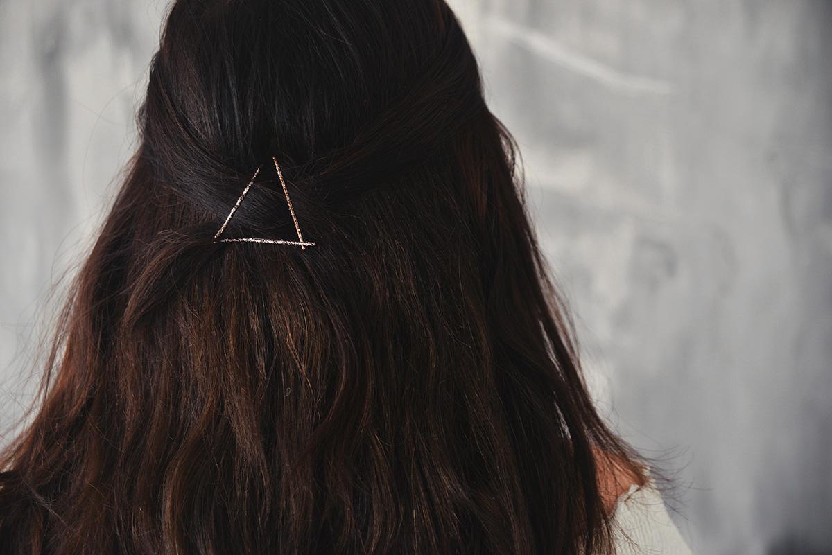 Bobby Pin Hairstyle