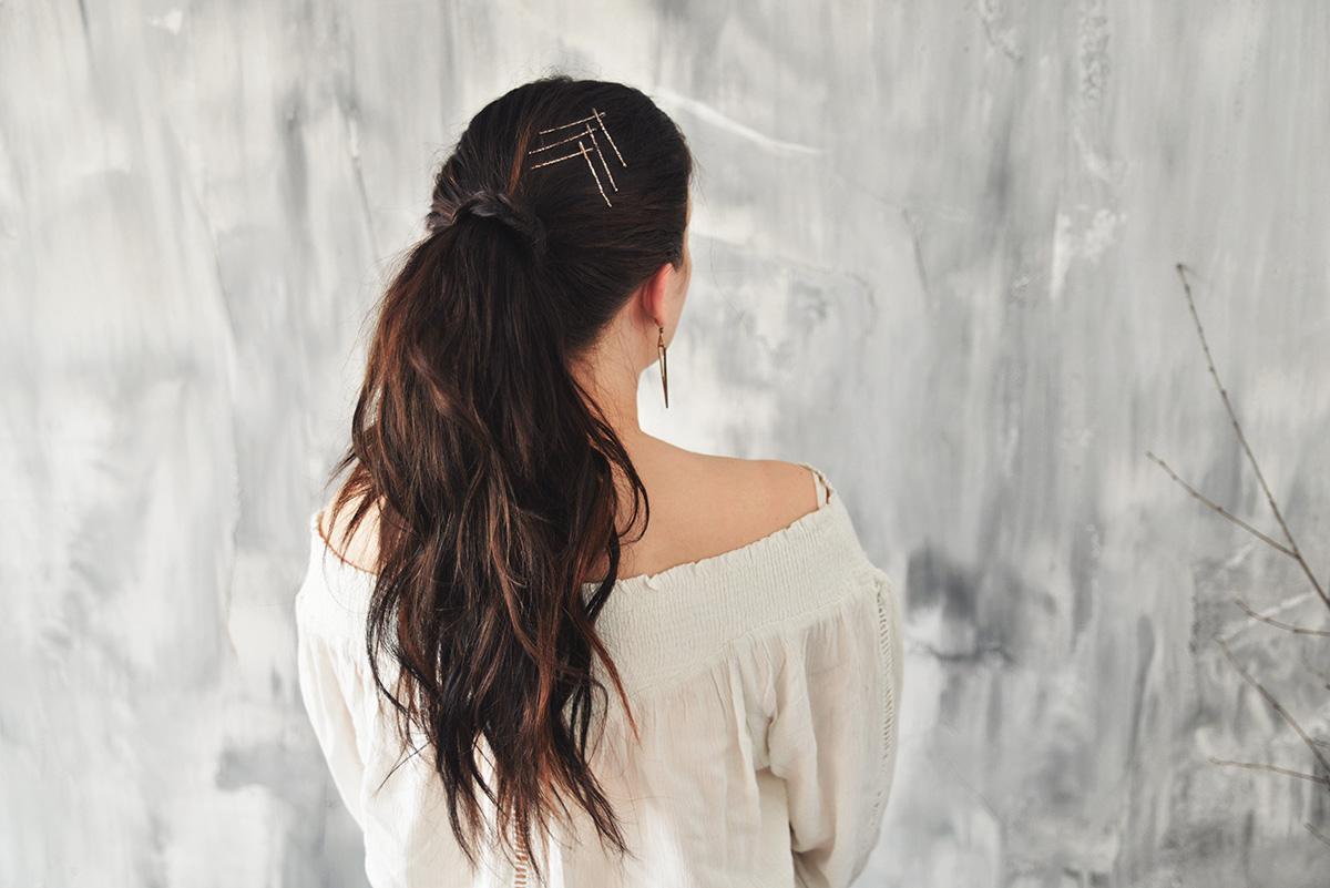 Frisyrer med hårnålar