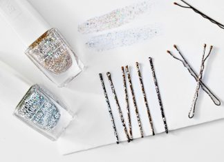 DIY: Upgrade your bobby pins - with nail polish