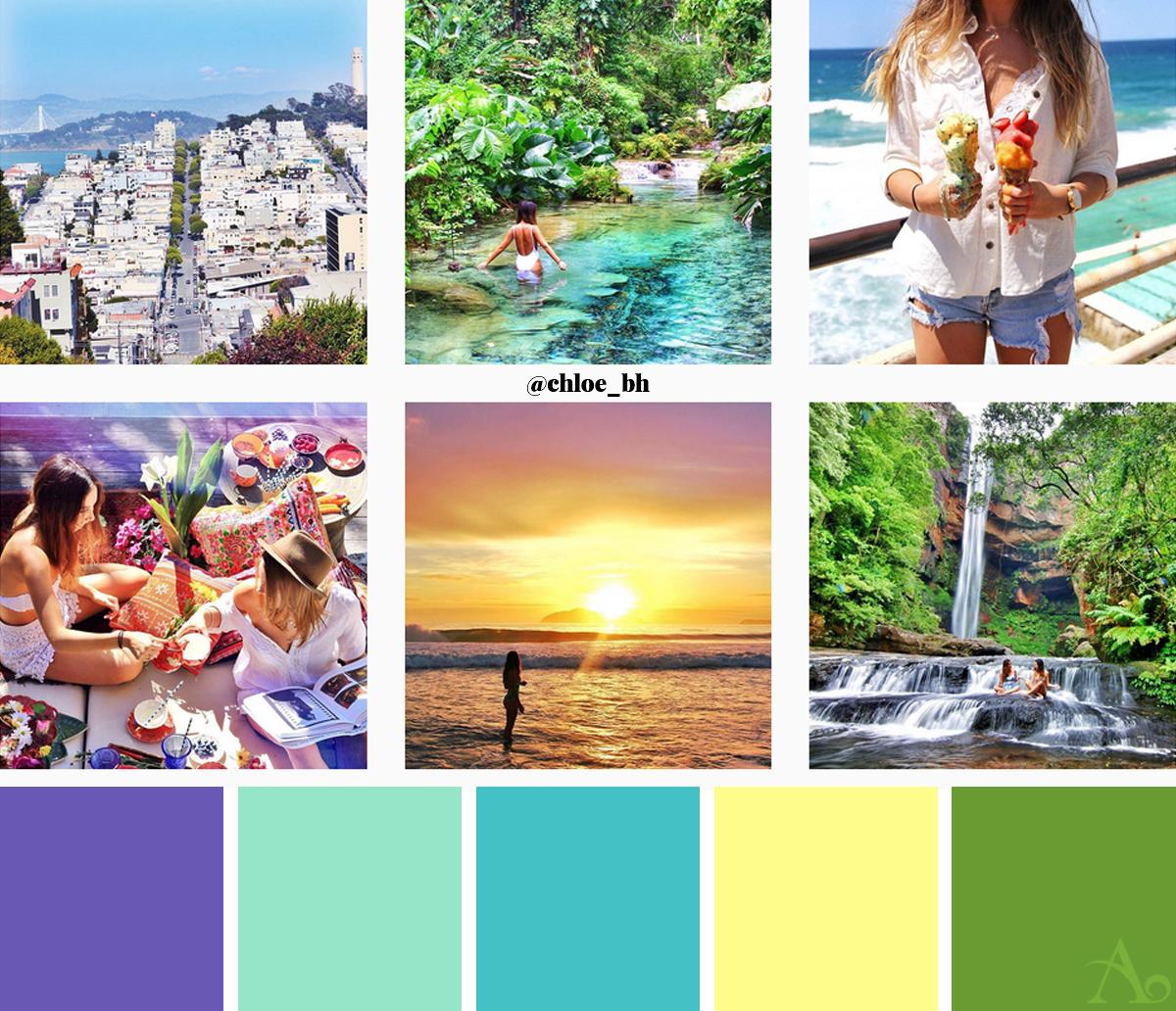 Skapa ett vackert Instagramflöde: 6 Snygga konton att inspireras av - @chloe_bh