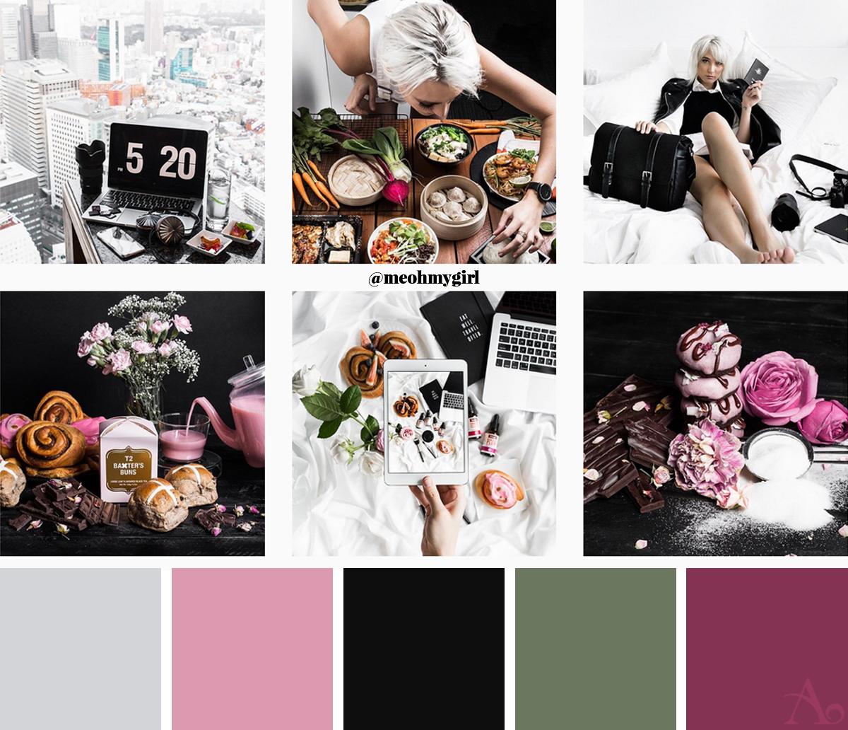 Skapa ett vackert Instagramflöde: 6 Snygga konton att inspireras av - @meohmygirl