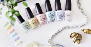 OPI Soft Shades Pastels