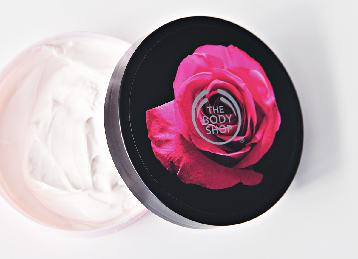 The Body Shop Bristish Rose Body Butter