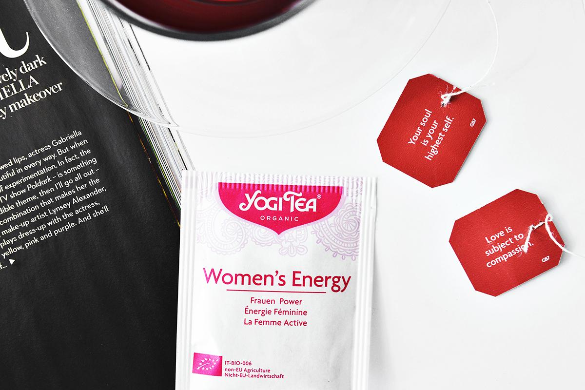 Yogi Tea Women's Energy - Örtte för mer energi