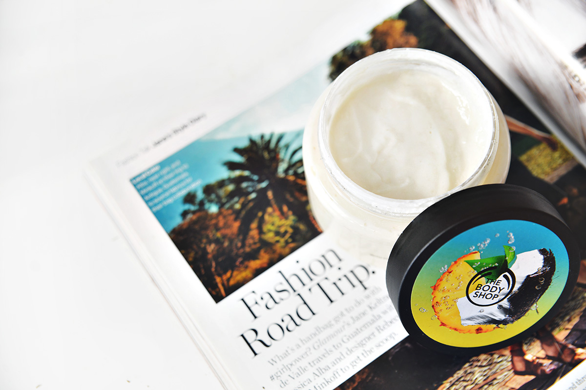 The Body Shop Piñita Colada Exfoliating Cream Body Scrub
