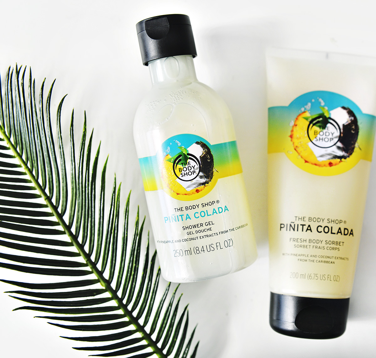 The Body Shop Piñita Colada Shower Gel & Body Sorbet