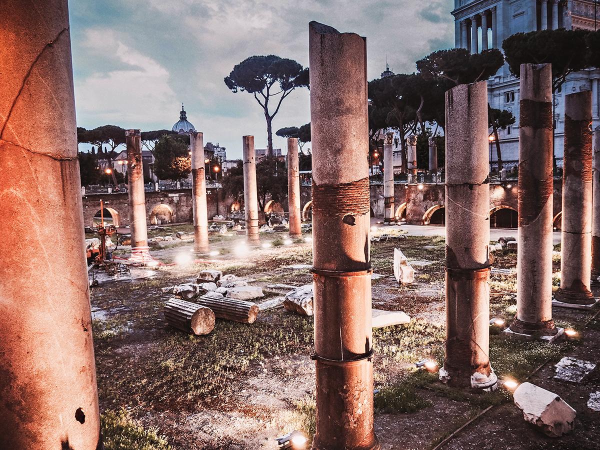 Trajan's Column (Colonna Traiana / Trajanuskolonnen)