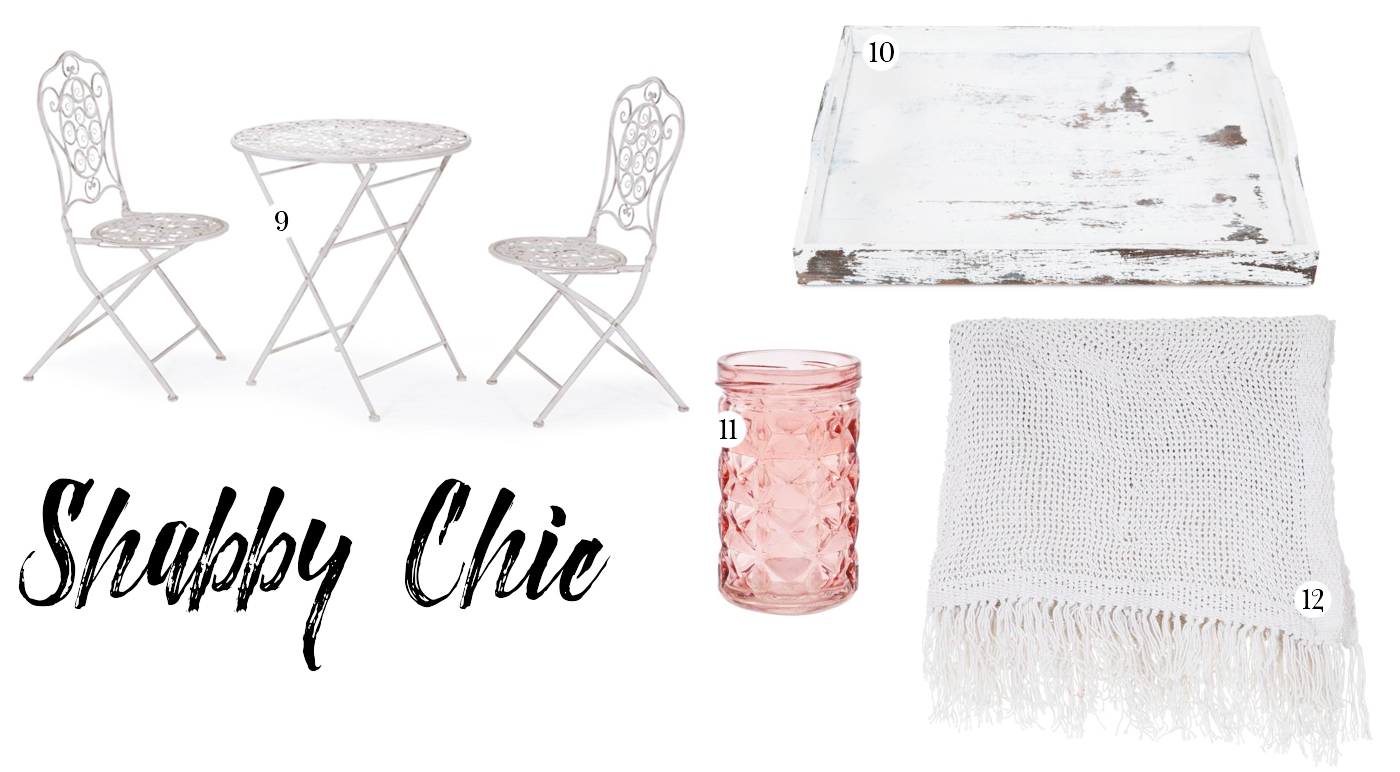 Balcony Ideas: Shabby Chic