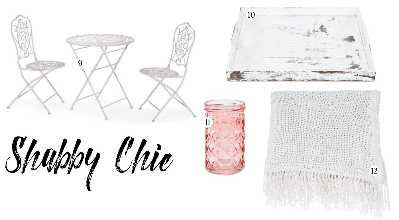 Balcony Ideas: Shabby Chic