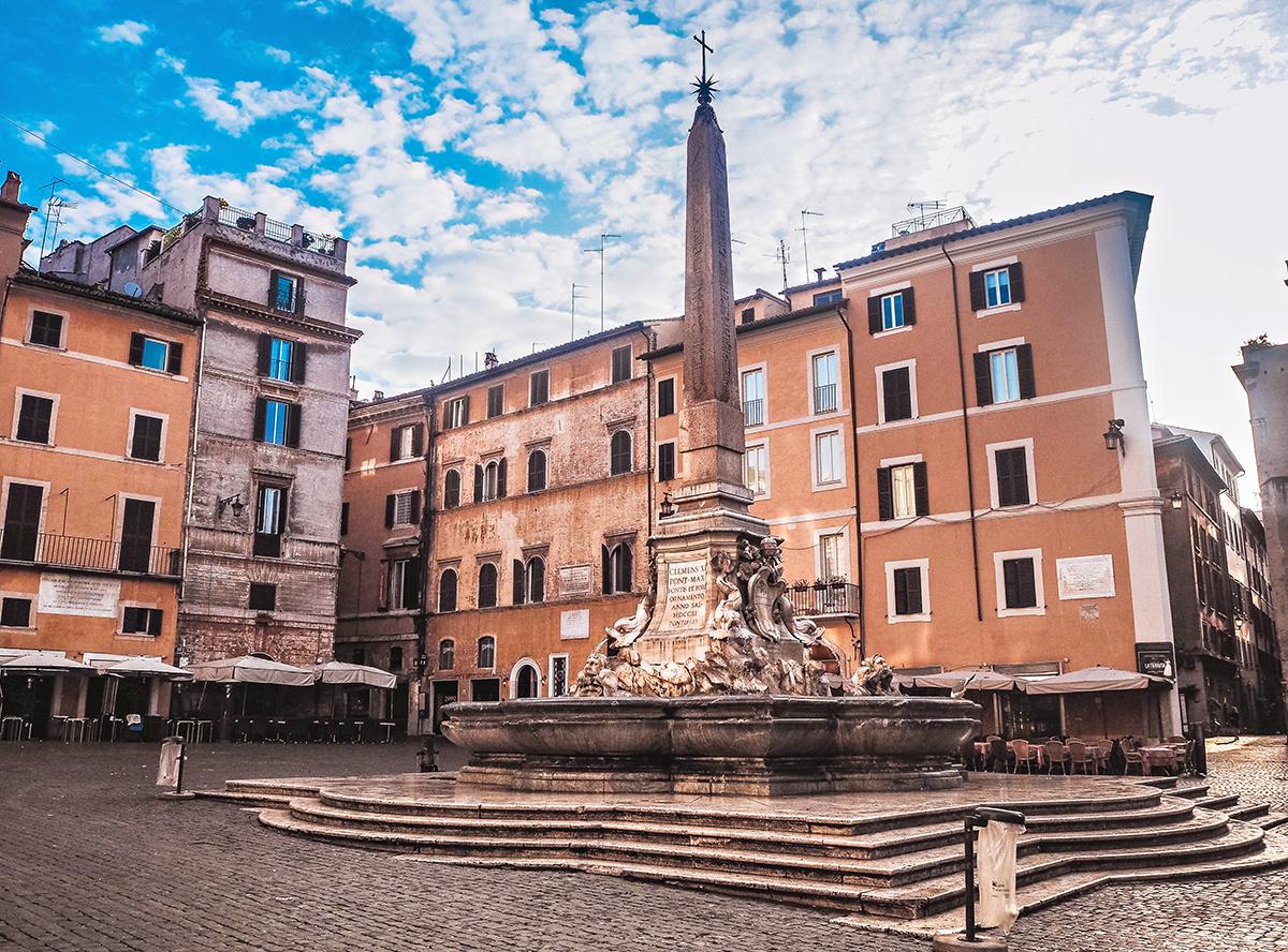 En weekend i Rom - Vid Pantheon