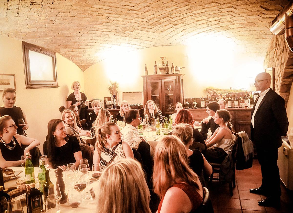 Italiensk middag på Girrarrosto Fiorentino