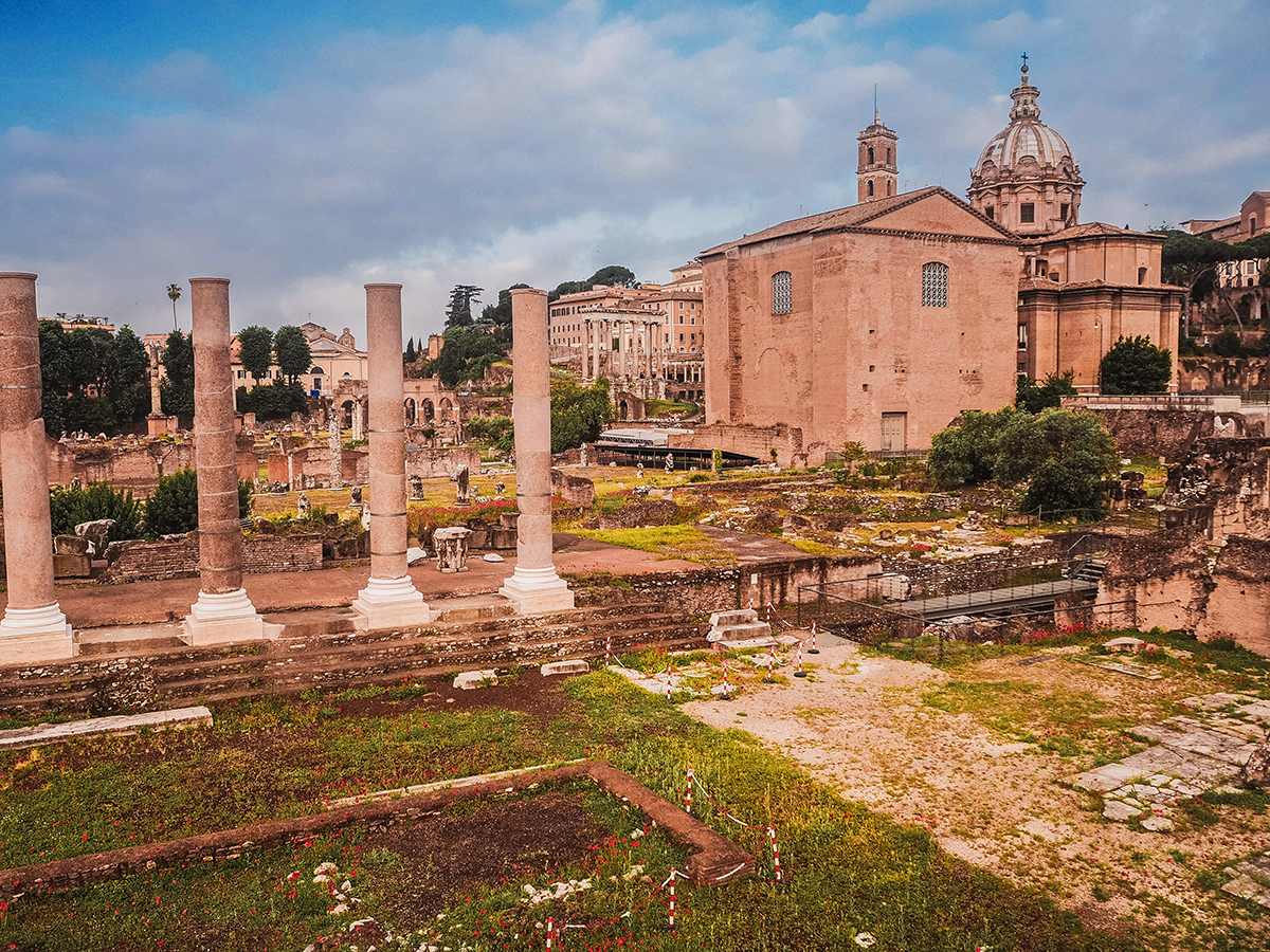 Imperial Forums (Fori Imperiali / Imperial Fora)