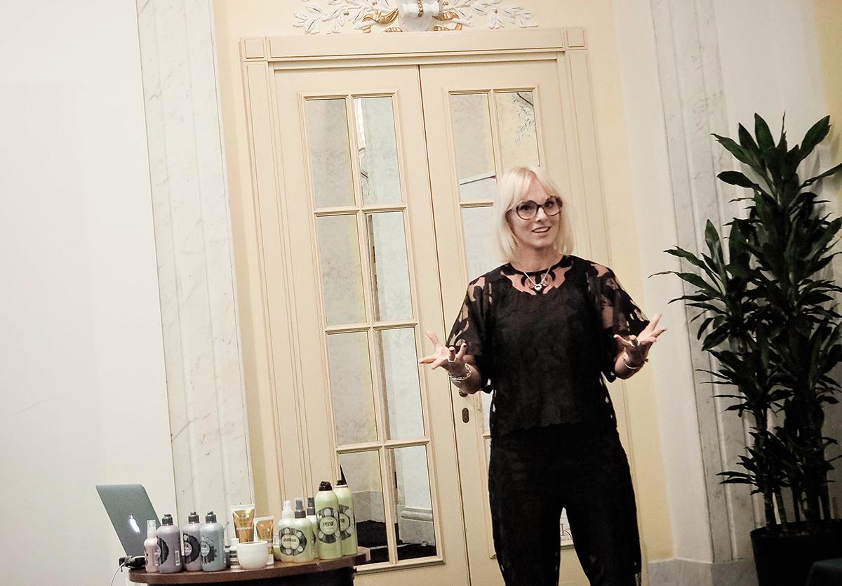 Linda Beronius, marketing & education manager på Grazette of Sweden