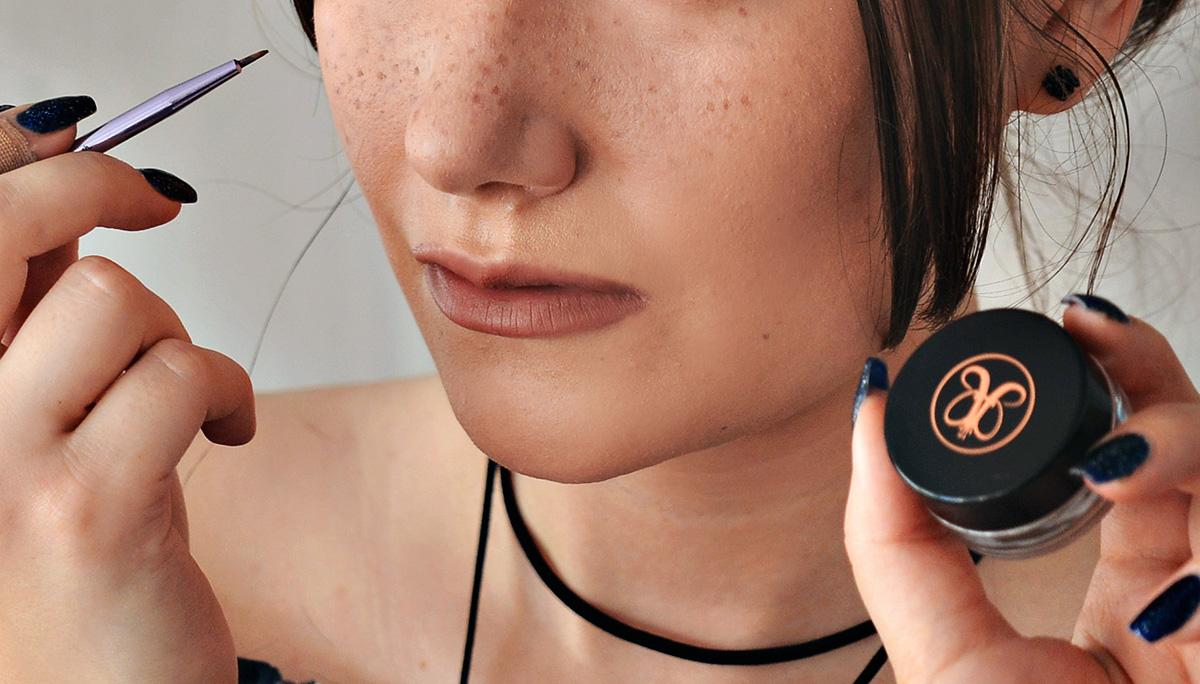 Fuska fram fräknar med makeup - Howto: Freckles with makeup
