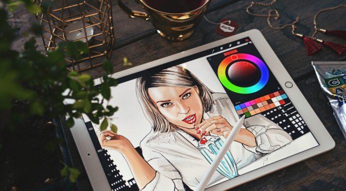 iPad Pro & Procreate - Comic Book Drawing