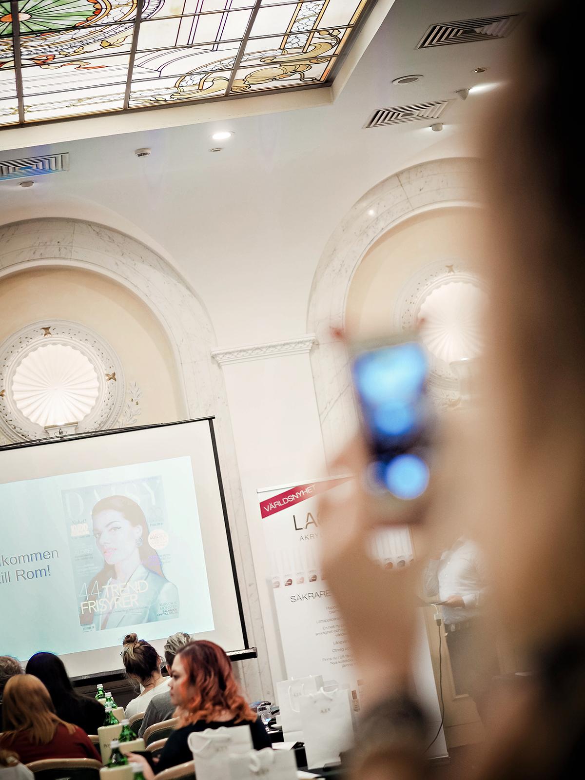 Skönhetskonferens i Rom med Daisy Beauty