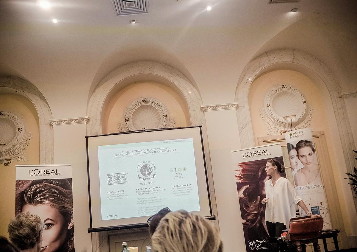 L'Oréal Paris om hållbarhetsarbete