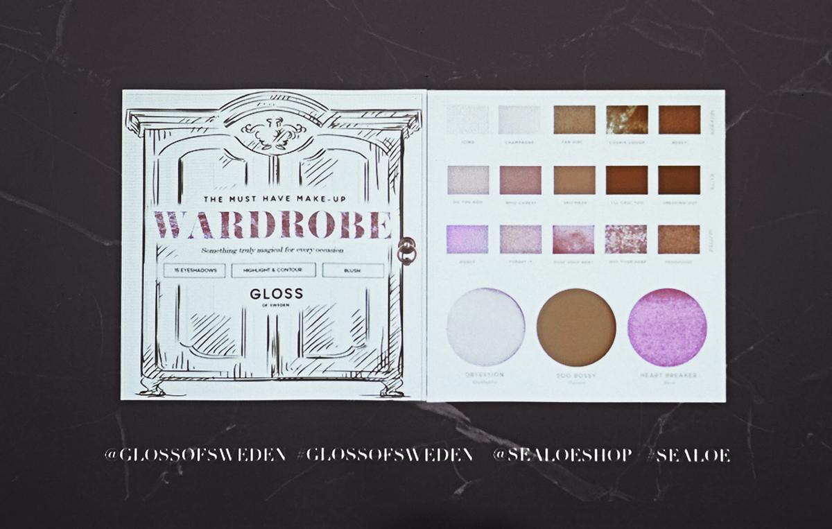 Gloss of Sweden - Makeup Wardrobe