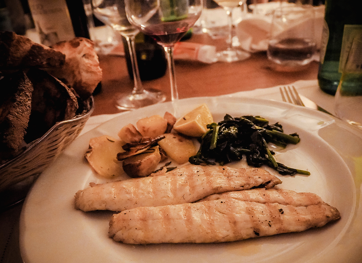 Middag i Italien