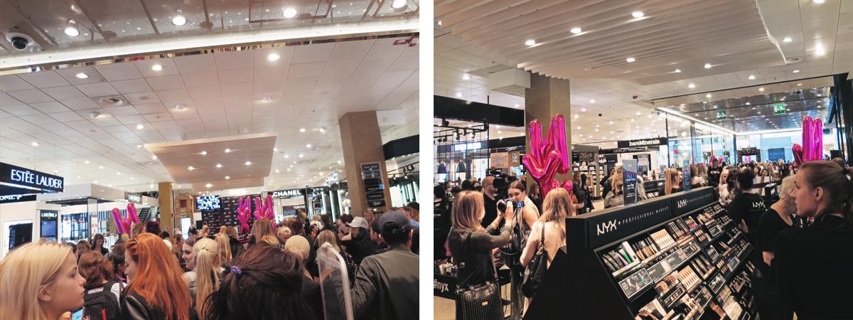 Event med NYX Cosmetics i Stockholm