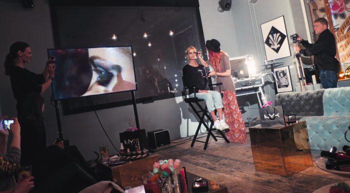 NYX Cosmetics till Stockholm - Event med Linda Hallberg