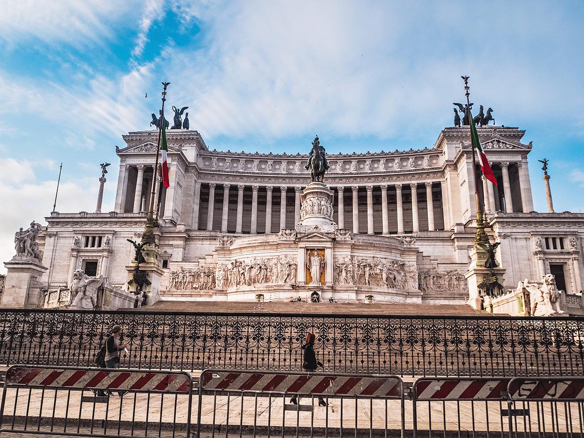 Piazza Venezia / Vittoriano- Viktor Emanuel-monumentet