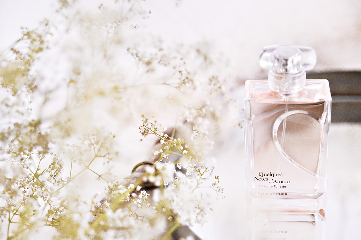 I min doftgarderob: Yves Rocher Quelques Notes D'Amour Edt