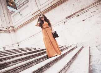 Roman outfit with maxi dress / Sabina and Friends