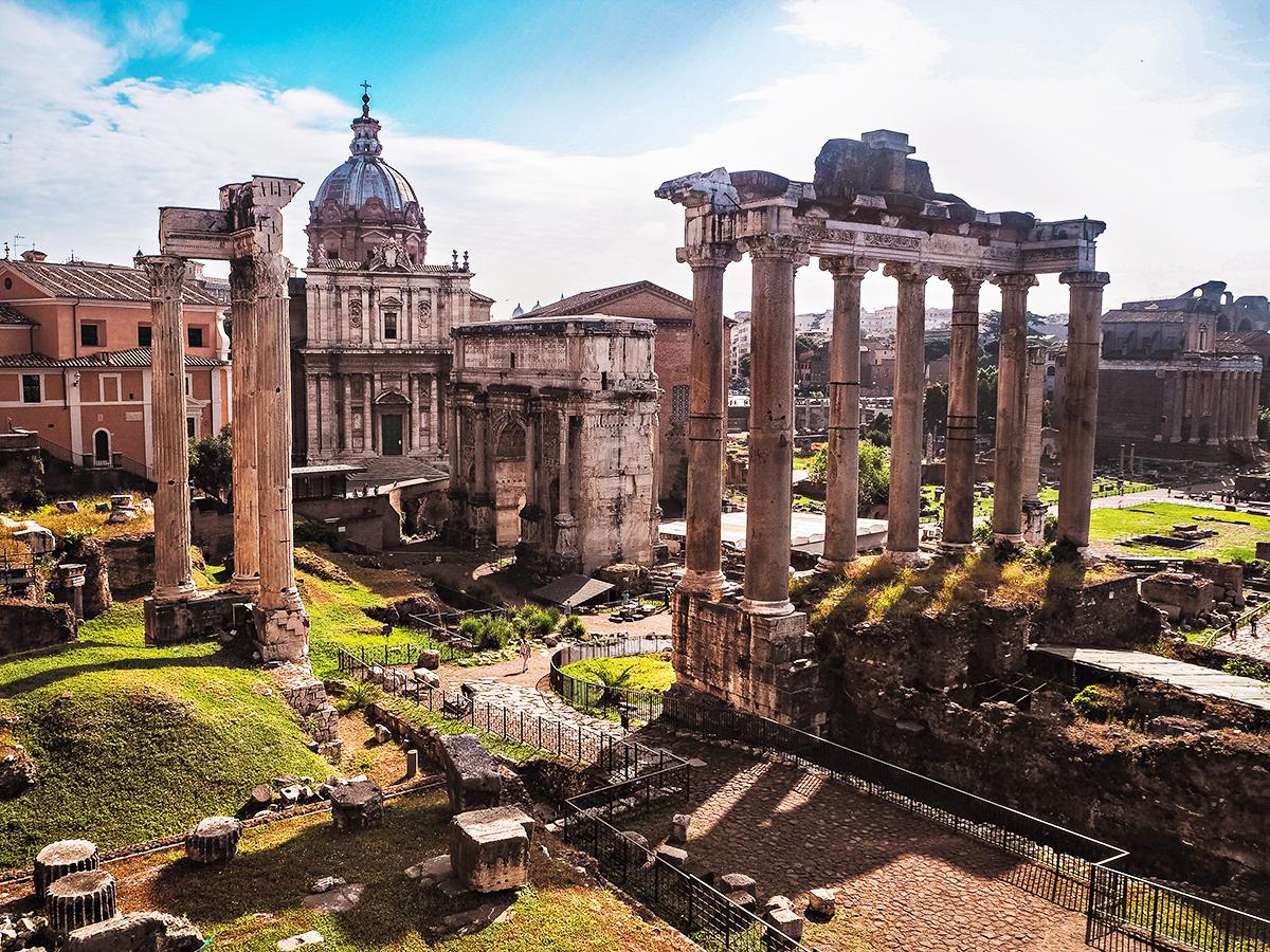 Forum Romanum (Foro Romano / Roman Forum)
