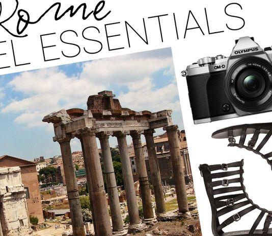 Rome Travel Essentials