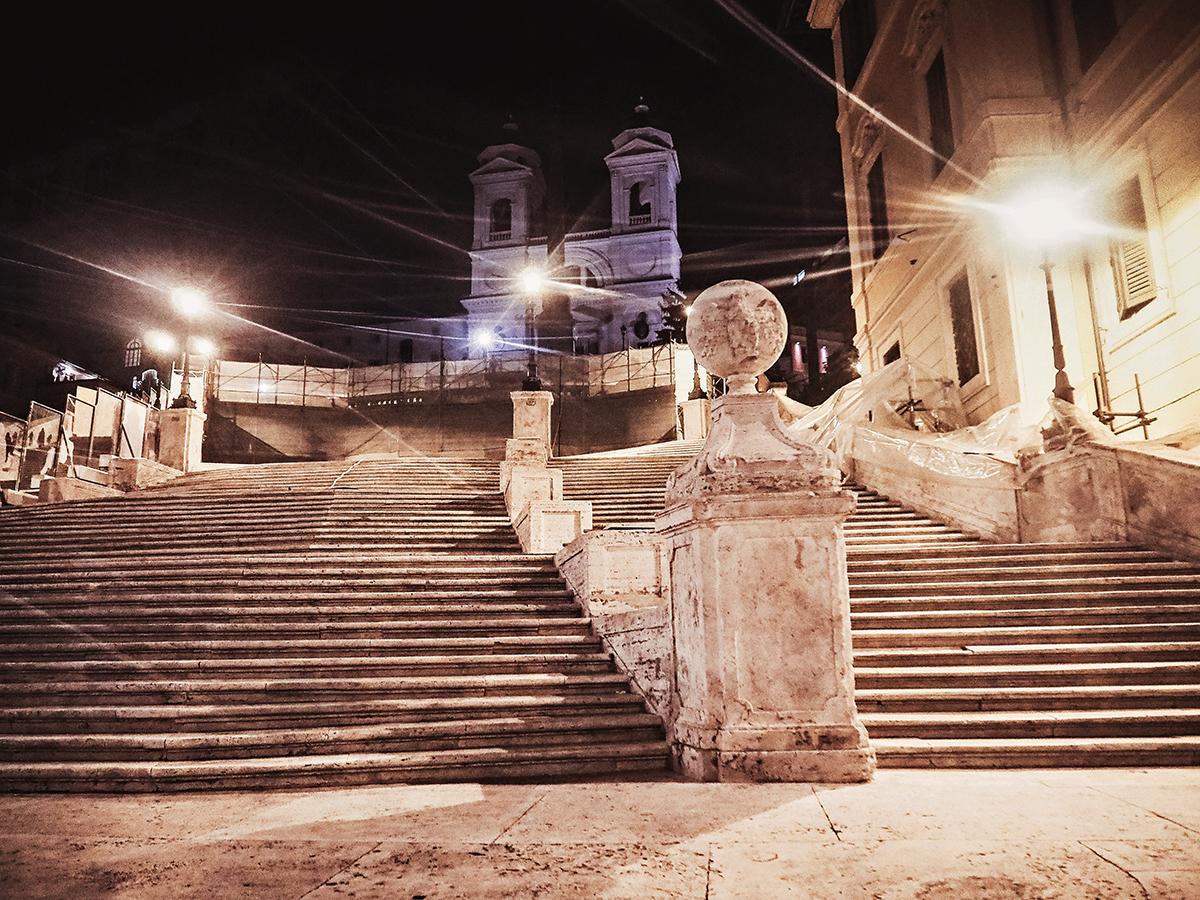 Spanska trappan / la Scalinata della Trinità dei Monti / Spanish steps