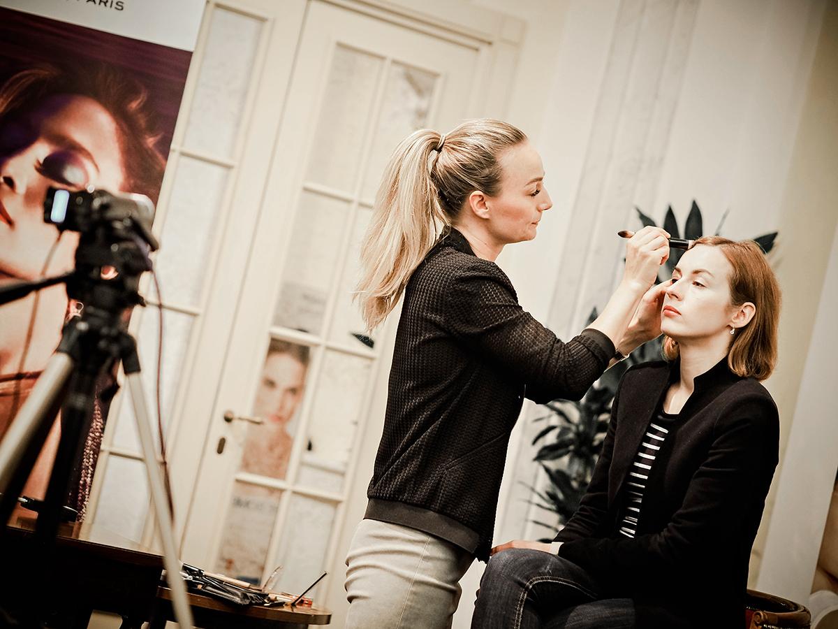 Teresa Grundin in action